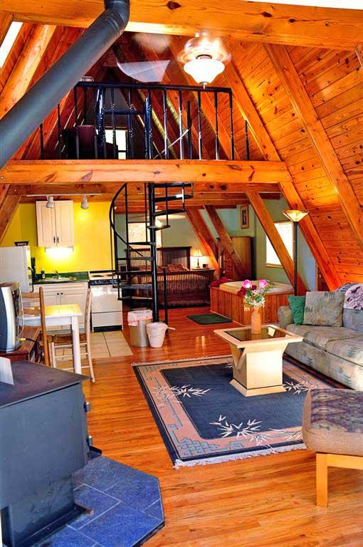 Cabin Kingfisher Living Room Open Plan