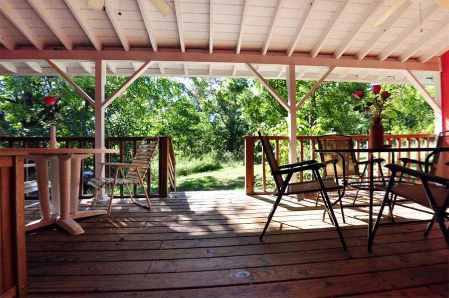 Cabin Roadrunner Porch