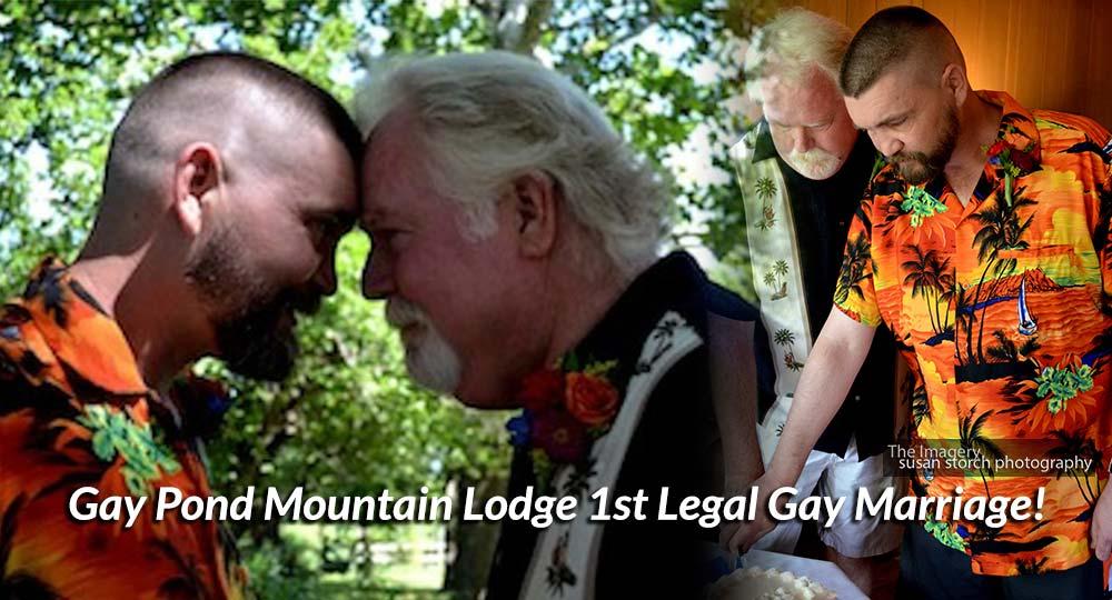 Chris & Barry, Gay Pond Mountain Lodge