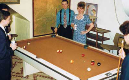 Game Room & Pool Table