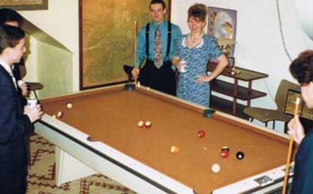 Game Room & Pool Table