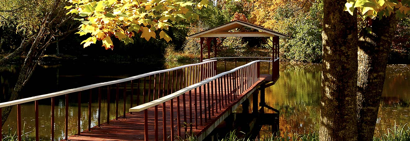 Pond-Mountain-Pier-Fall
